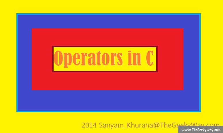 Operators_in_C